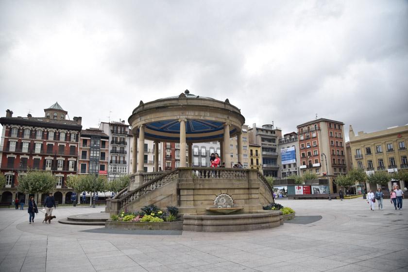 Kiosco de la Plaza del Castillo
