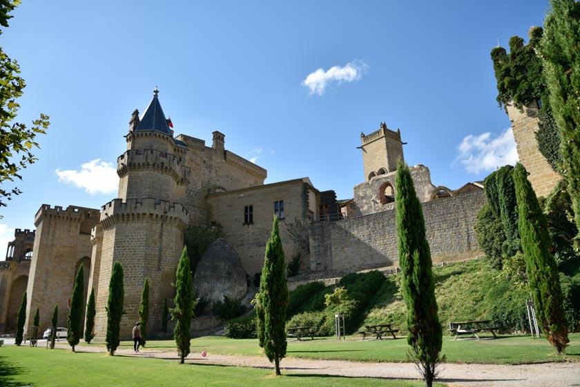 Fachada exterior del Palacio