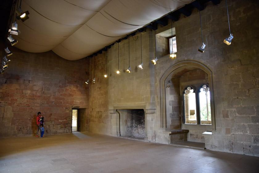 Interior de una de las salas del Palacio