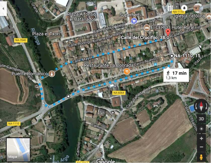Ruta circular por Puente La Reina