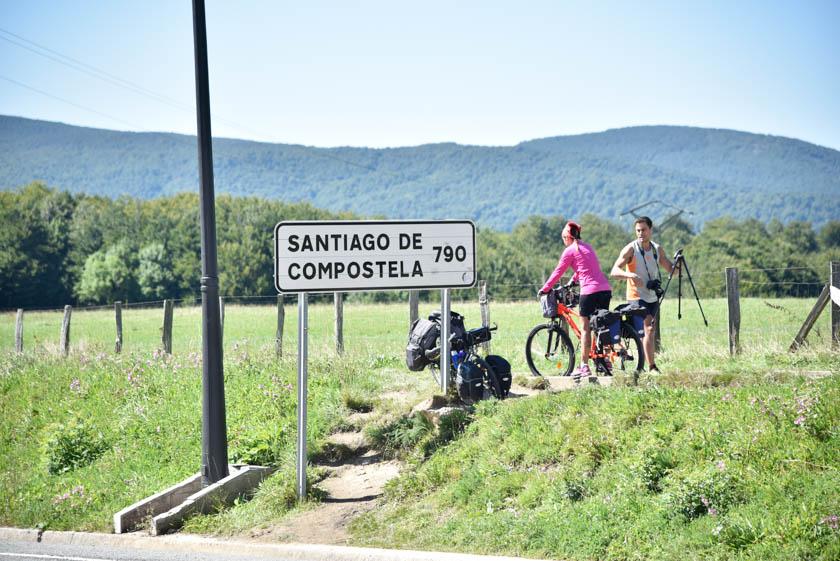 Desde aquí parte el Camino a Santiago de Compostela