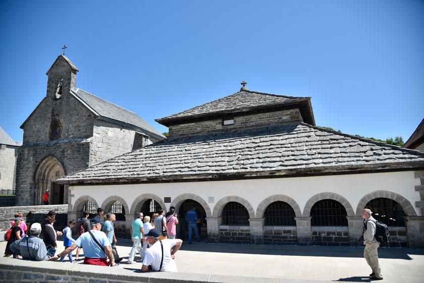 Fachada exterior del Silo de Carlomagno
