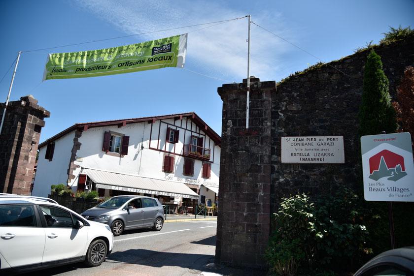 Entrada a Saint-Jean-Pied-de-Port