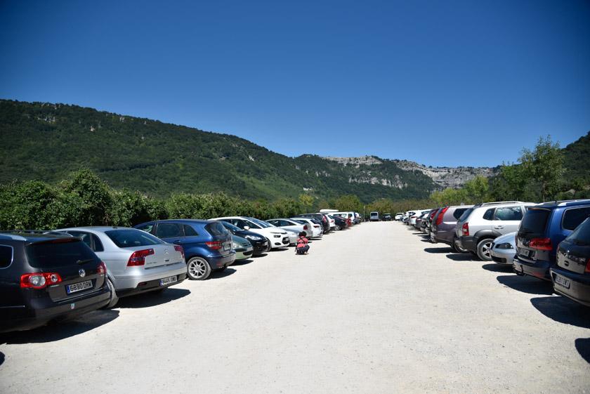 Vistas del parking del Nacedero del Urederra