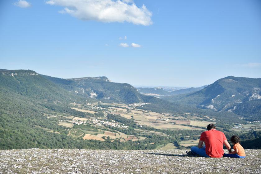Impresionantes vistas de la Sierra de Urbasa