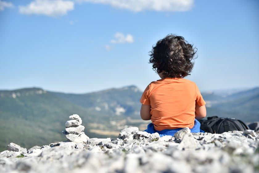 Daniel disfrutando del Balcón de Pilatos