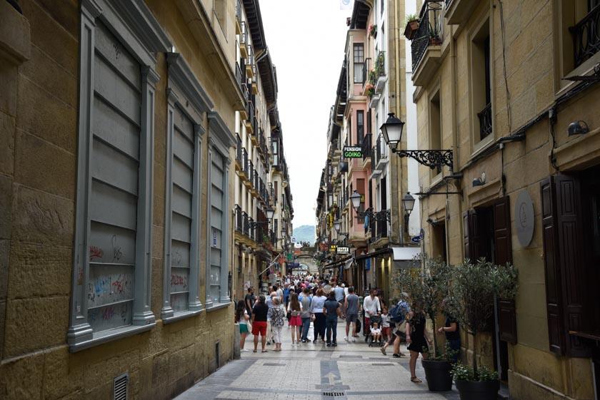 Una calle cualquiera del casco viejo