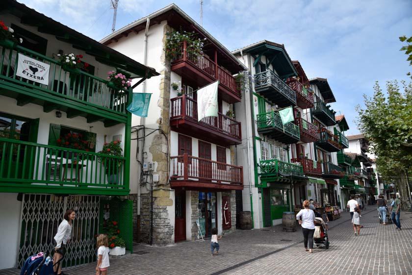Típicas casas del barrio de La Marina
