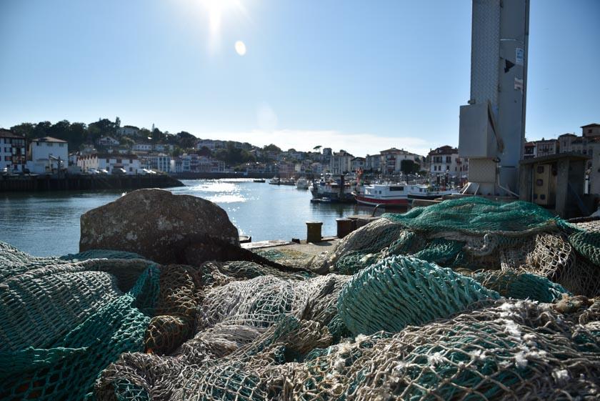 Detalles pesqueros del puerto