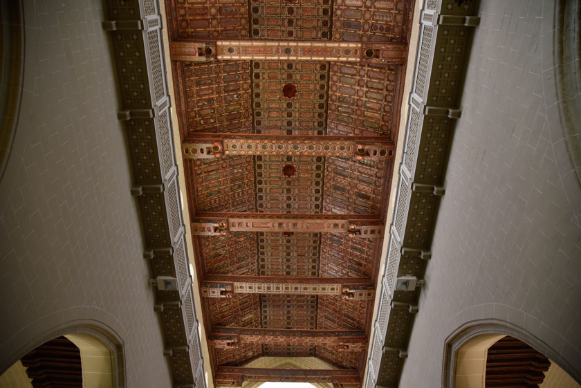 Techumbre de la Catedral