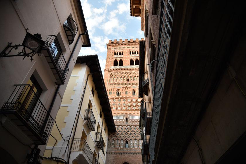 Torre de San Salvador en Teruel