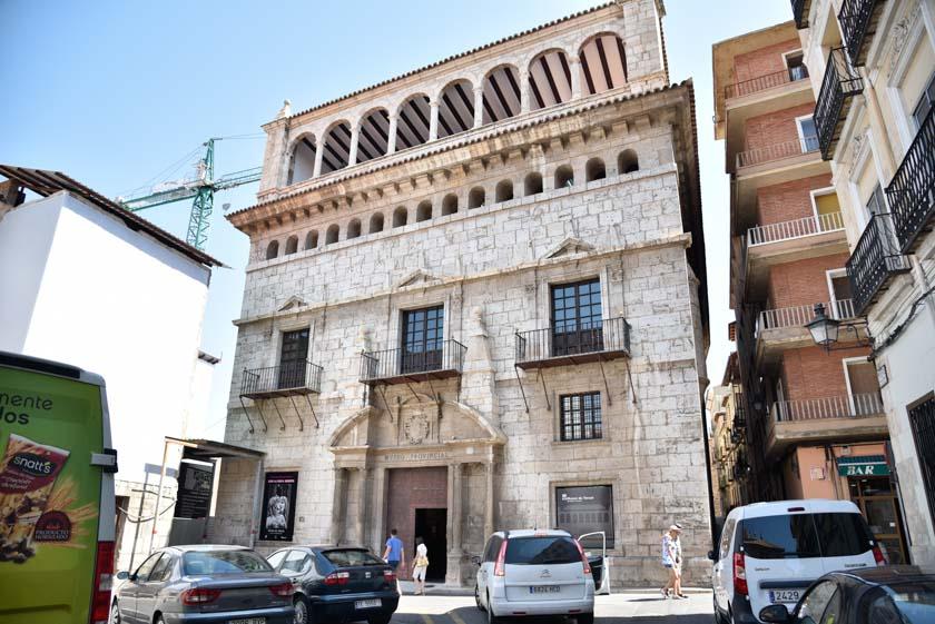 Fachada del Museo Provincial de Teruel
