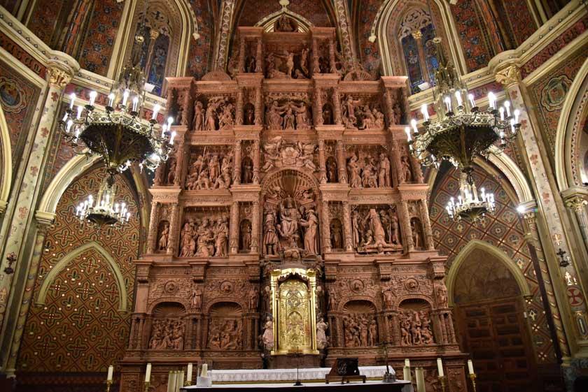 Retablo de la Iglesia de San Pedro