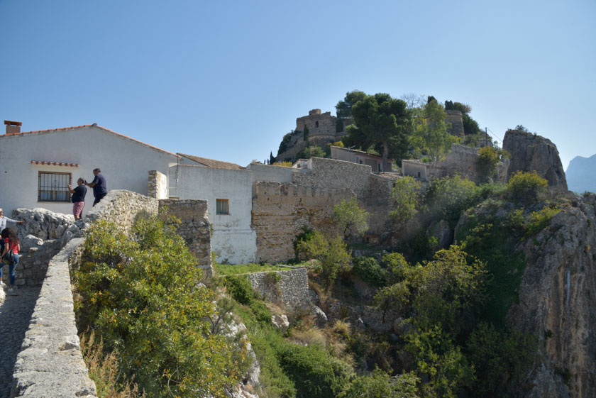 Vistas del castillo desde el Mirador