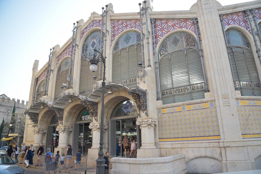 Fachada exterior del Mercado Central