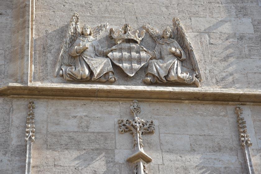 Nuevamente se muestra el escudo de la ciudad