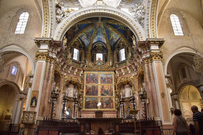 Retablo mayor de la Catedral