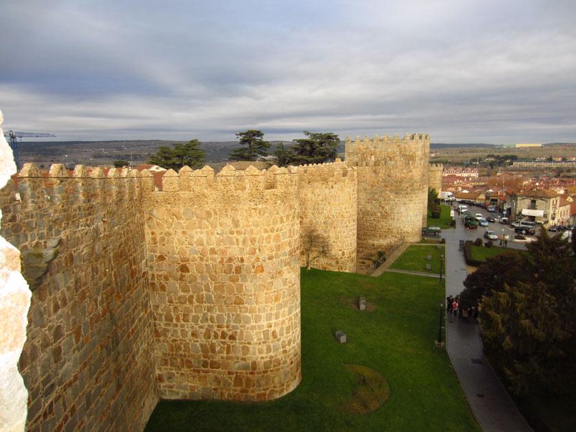 Exterior de la muralla