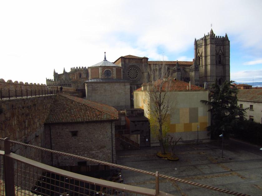 Catedral de Ávila vista desde la muralla