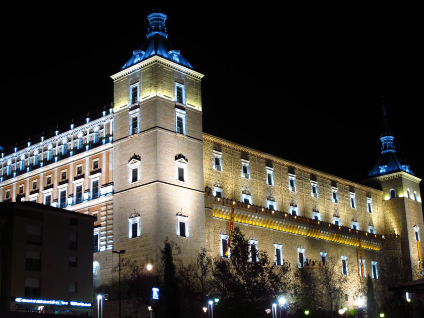 Fachada exterior del Alcázar de Toledo