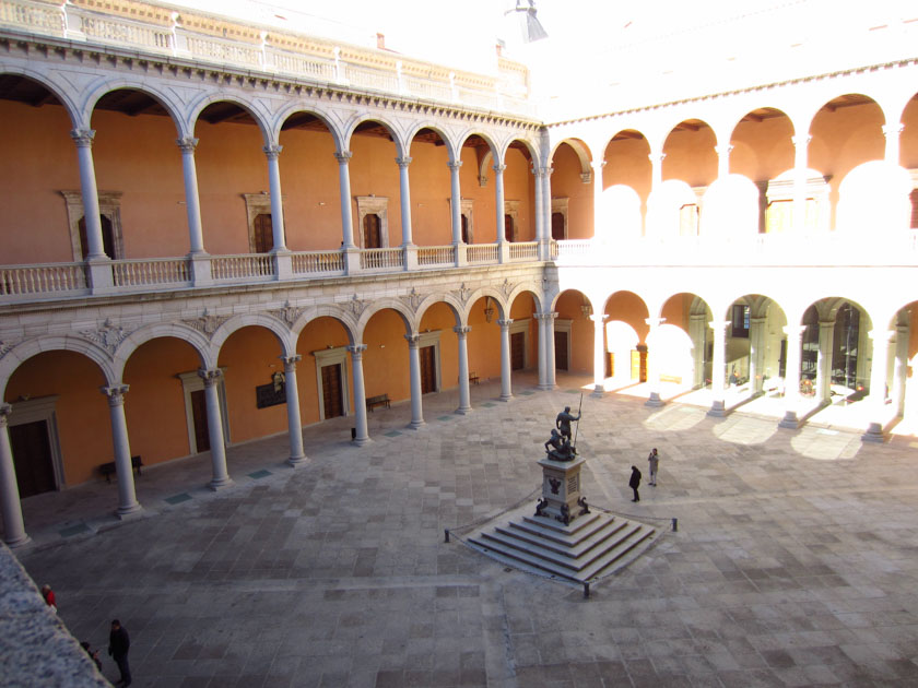 Patio interior del Alcázar