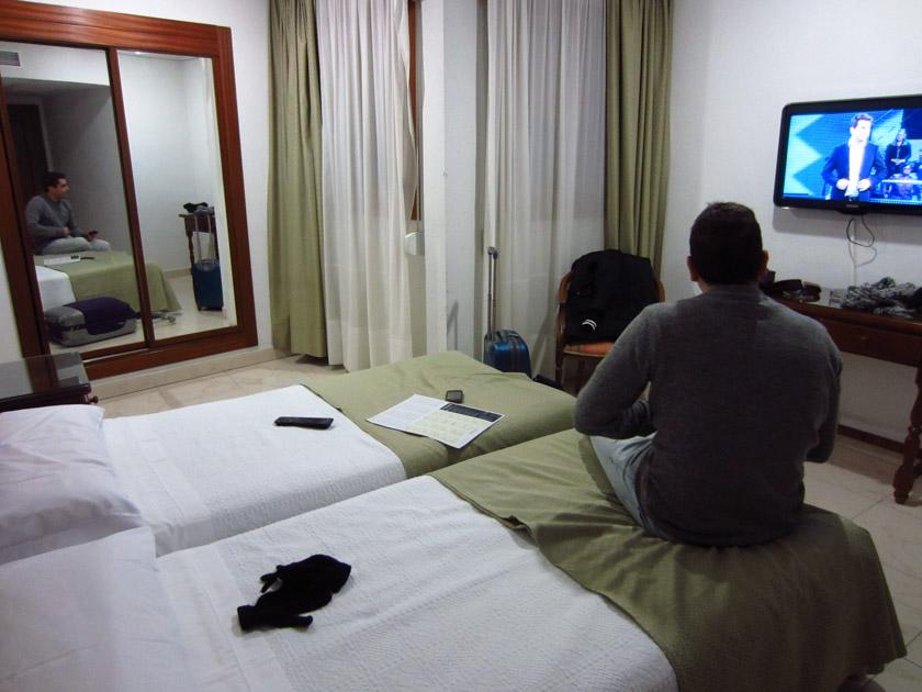 Nuestra habitación del Hotel Martín