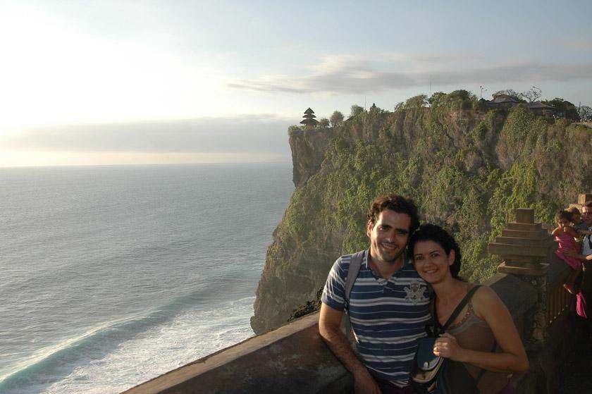 Disfrutando en Bali