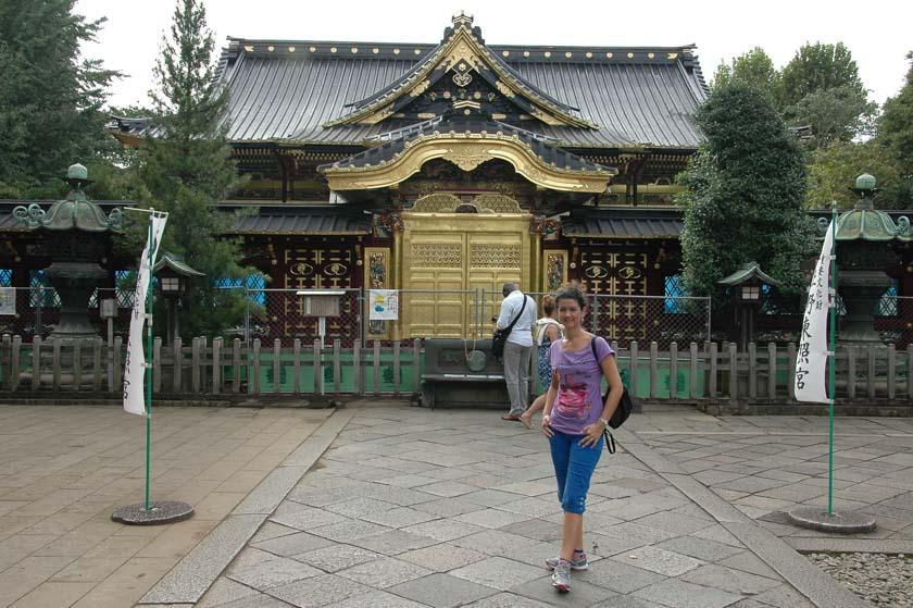 Templo en el parque Ueno