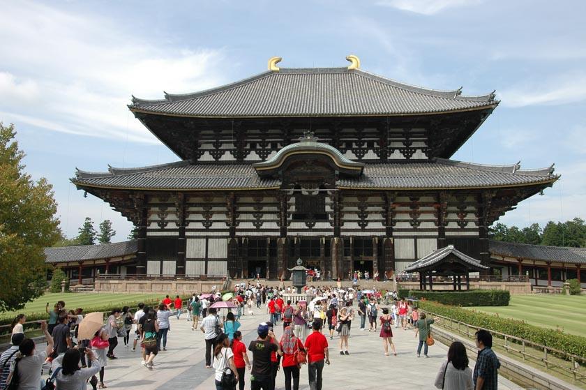 Templo de Todaiji en Nara