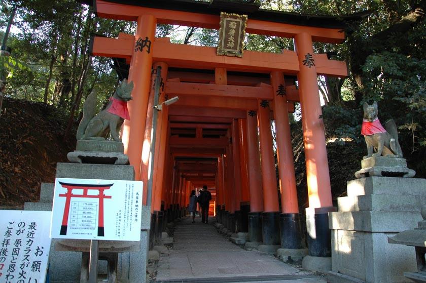 Comenzando nuestro paseo por Fushimi Inari