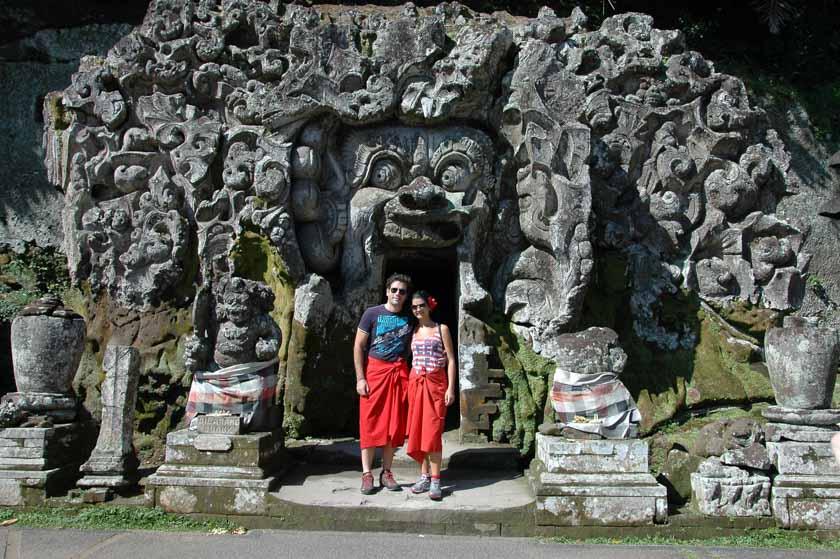 Cueva del Elefante en Bali
