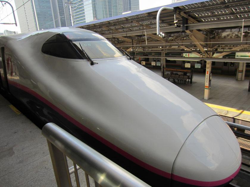 Tren bala o shinkansen