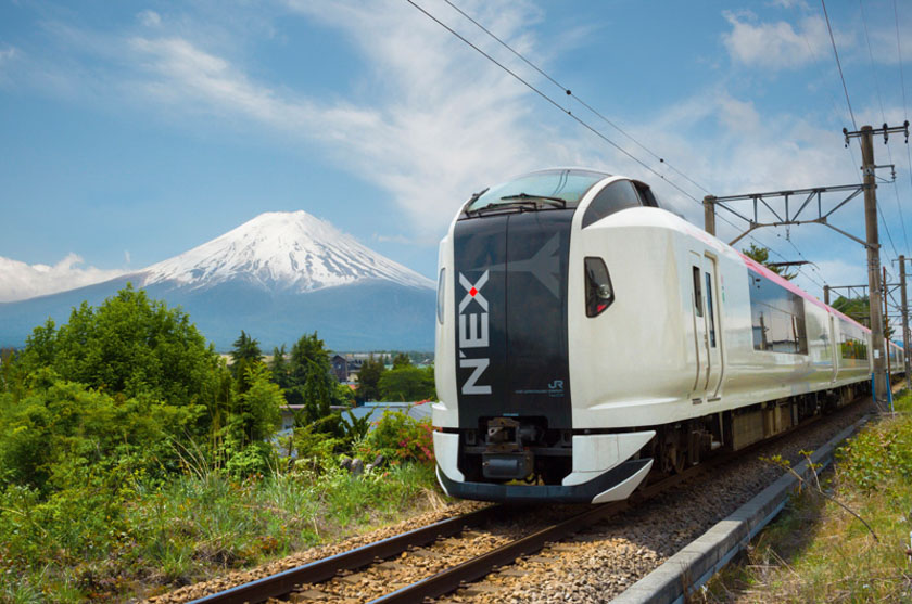 Narita Express incluido en el Japan Rail Pass