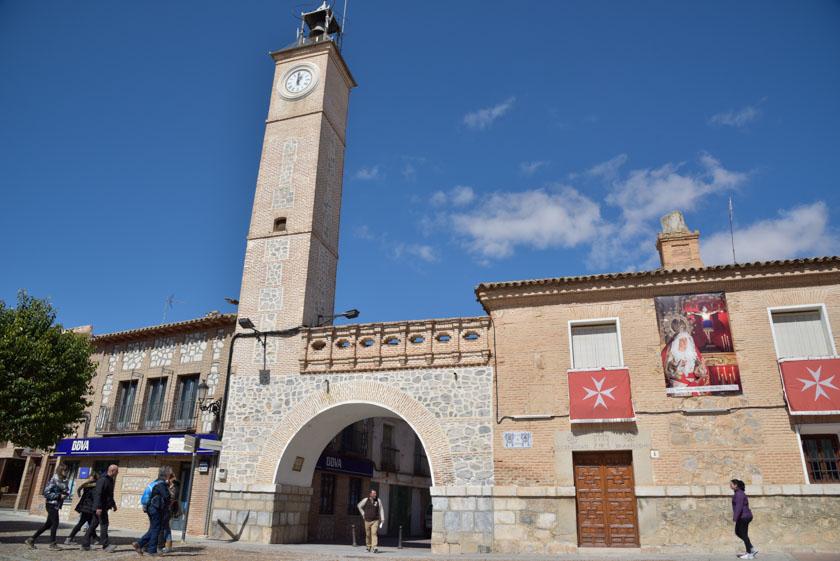 Torre del reloj de Consuegra