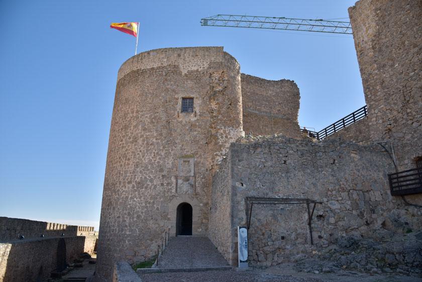 Visitando el Castillo de Consuegra