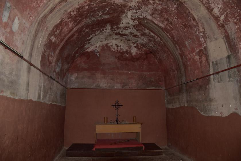 Aljibe del castillo de Consuegra