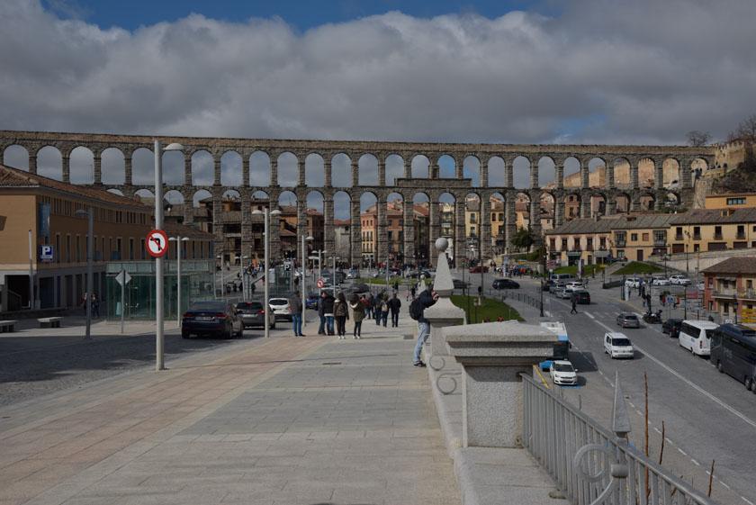 Vistas del Acueducto de Segovia