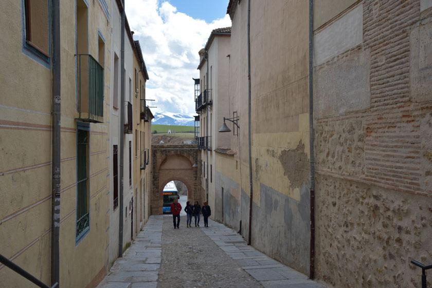 Paseando por el bonito barrio judío de Segovia