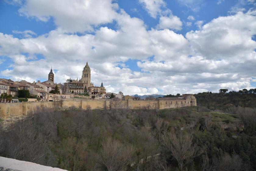 Vistas de Segovia desde el Alcázar