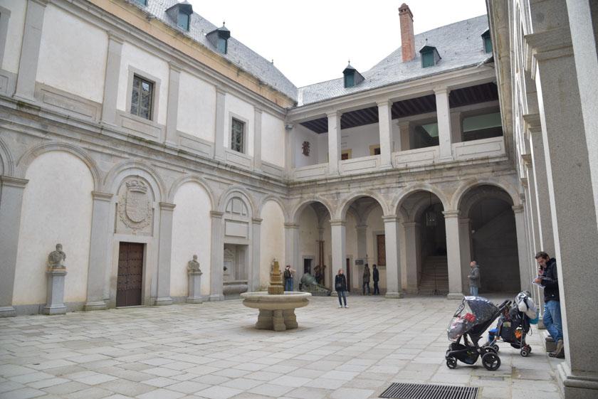 Patio de Armas del Alcázar