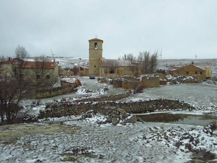 Una aldea cualquiera en nuestra ruta