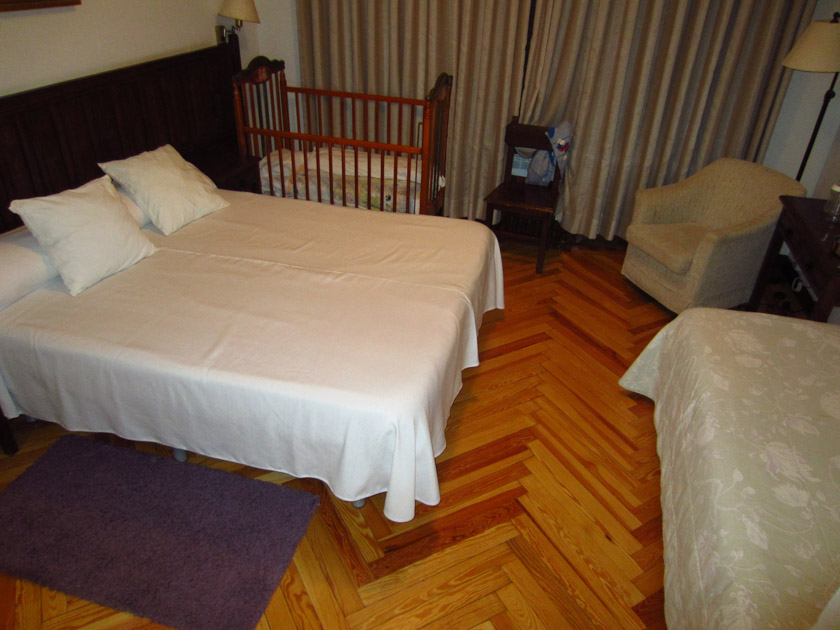 Nuestra habitación del hotel