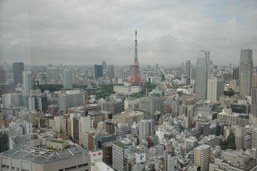 Vistas de Tokio desde nuestra habitación