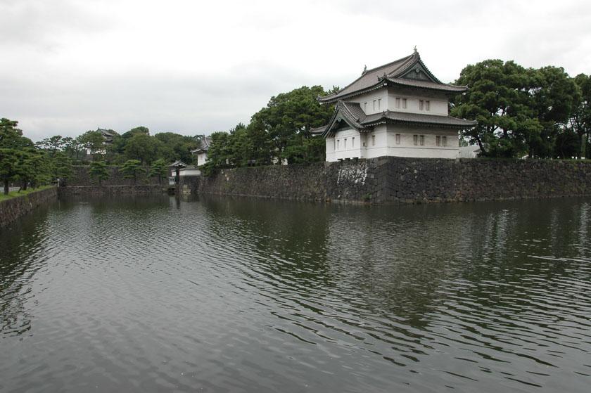 Detalles del Palacio Imperial de Tokio