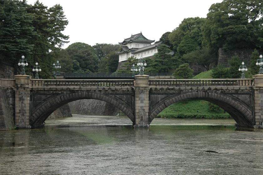 Bonitas vistas del Palacio Imperial de Tokio