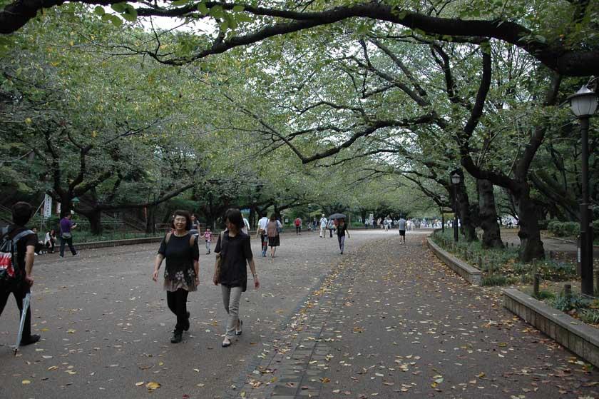 Entrada al parque de Ueno