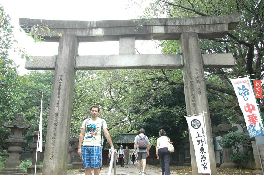 Torii de entrada al Santuario Toshogu