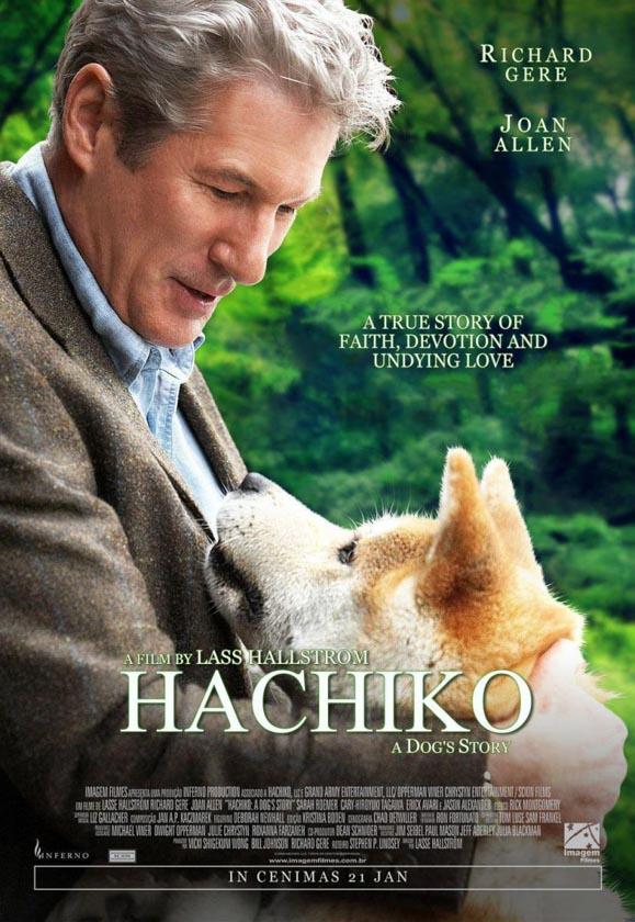Cartel de la película Hachiko