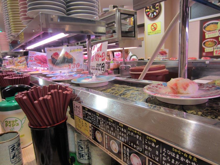 Típico restaurante japonés