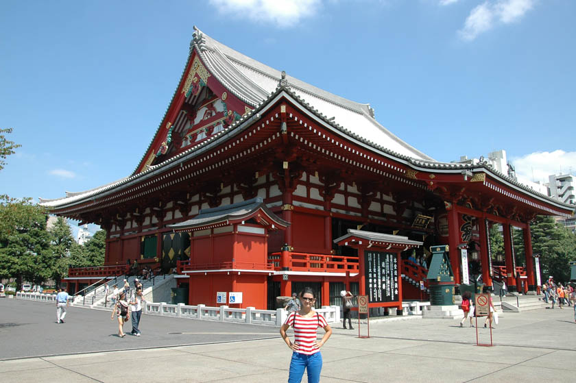 Edificio principal del Templo Sensoji
